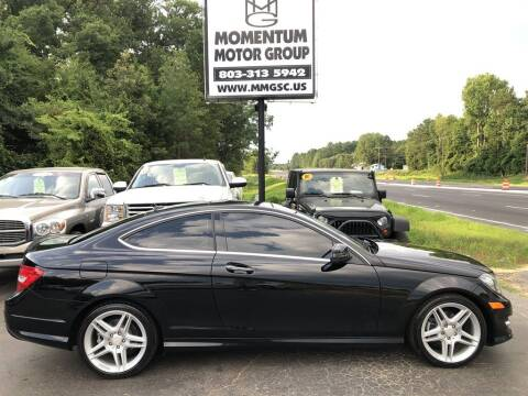 2013 Mercedes-Benz C-Class for sale at Momentum Motor Group in Lancaster SC
