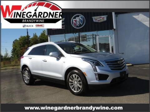 2017 Cadillac XT5 for sale at Winegardner Auto Sales in Prince Frederick MD