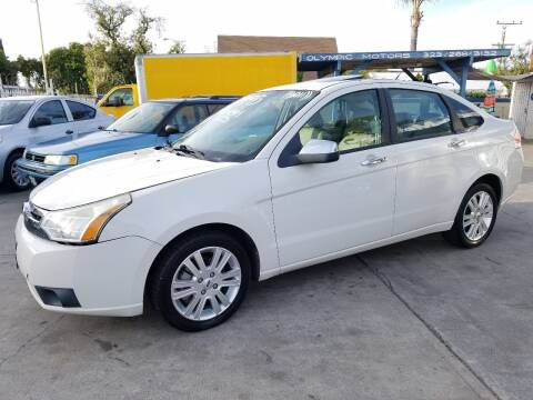 2011 Ford Focus for sale at Olympic Motors in Los Angeles CA