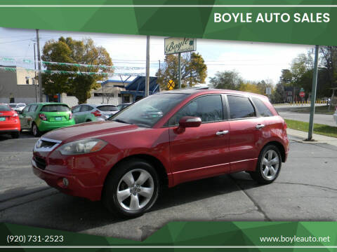 2008 Acura RDX for sale at Boyle Auto Sales in Appleton WI