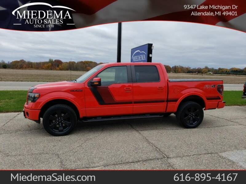 2014 Ford F-150 for sale at Miedema Auto Sales in Allendale MI