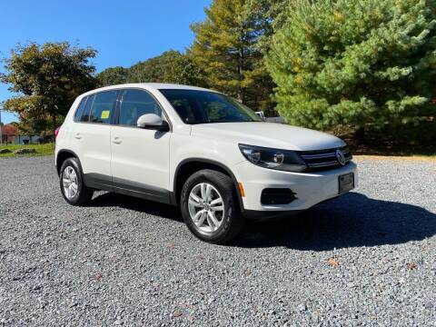 2013 Volkswagen Tiguan for sale at Fournier Auto and Truck Sales in Rehoboth MA