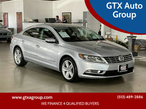 2013 Volkswagen CC for sale at GTX Auto Group in West Chester OH
