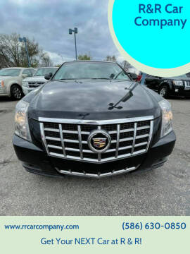 2012 Cadillac CTS for sale at R&R Car Company in Mount Clemens MI