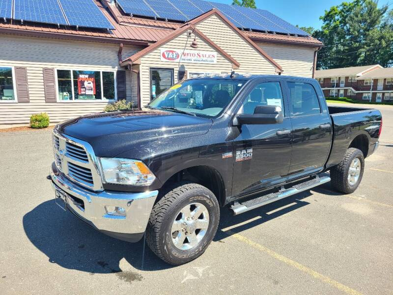 2015 RAM Ram Pickup 2500 for sale at V & F Auto Sales in Agawam MA