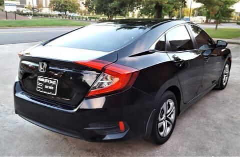 2016 Honda Civic for sale at memar auto sales, inc. in Marietta GA