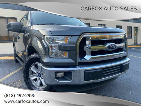 2016 Ford F-150 for sale at Carfox Auto Sales in Tampa FL