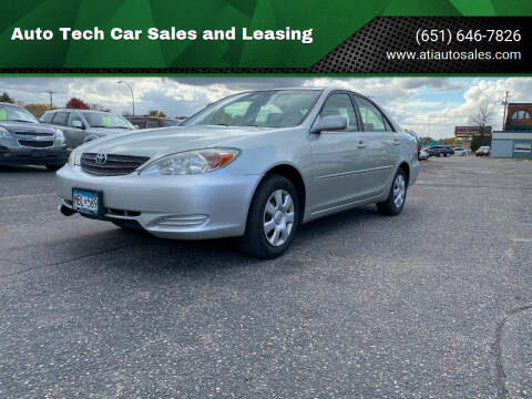 2003 Toyota Camry for sale at Auto Tech Car Sales and Leasing in Saint Paul MN