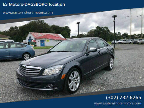 2009 Mercedes-Benz C-Class for sale at ES Motors-DAGSBORO location in Dagsboro DE