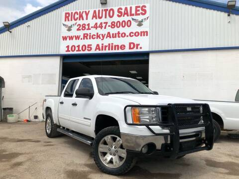 2011 GMC Sierra 1500 for sale at Ricky Auto Sales in Houston TX