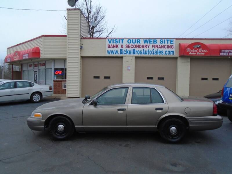 2003 Ford Crown Victoria for sale at Bickel Bros Auto Sales, Inc in Louisville KY