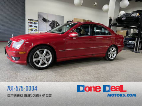 2007 Mercedes-Benz C-Class for sale at DONE DEAL MOTORS in Canton MA