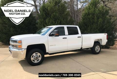 2016 Chevrolet Silverado 2500HD for sale at Noel Daniels Motor Company in Brandon MS