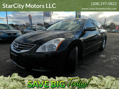 2011 Nissan Altima for sale at StarCity Motors LLC in Garden City ID