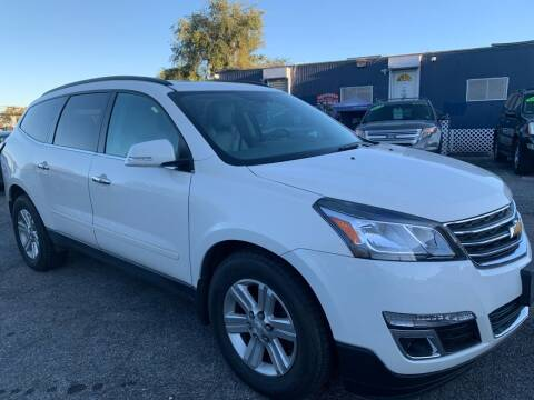 2013 Chevrolet Traverse for sale at TD MOTOR LEASING LLC in Staten Island NY