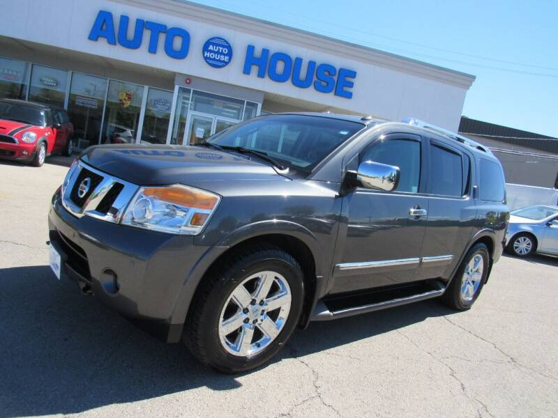 2010 Nissan Armada for sale at Auto House Motors in Downers Grove IL
