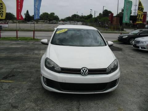 2014 Volkswagen GTI for sale at SUPERAUTO AUTO SALES INC in Hialeah FL
