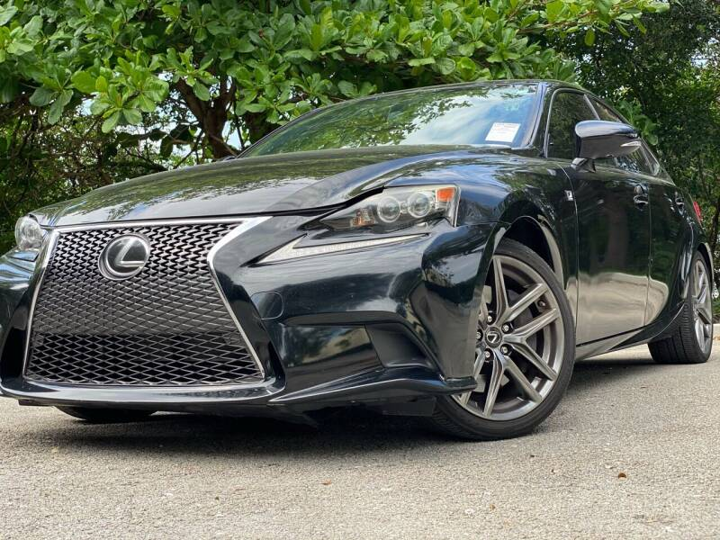 2016 Lexus IS 200t for sale at HIGH PERFORMANCE MOTORS in Hollywood FL