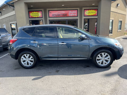 2012 Nissan Murano for sale at Advantage Auto Sales in Garden City ID
