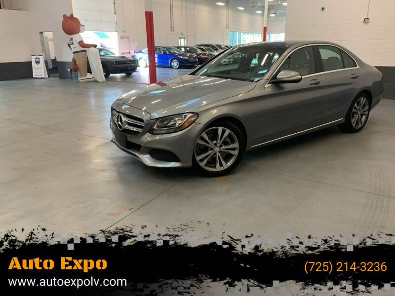 2015 Mercedes-Benz C-Class for sale at Auto Expo in Las Vegas NV
