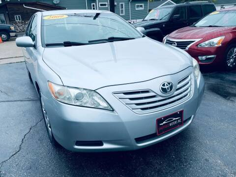 2009 Toyota Camry for sale at SHEFFIELD MOTORS INC in Kenosha WI