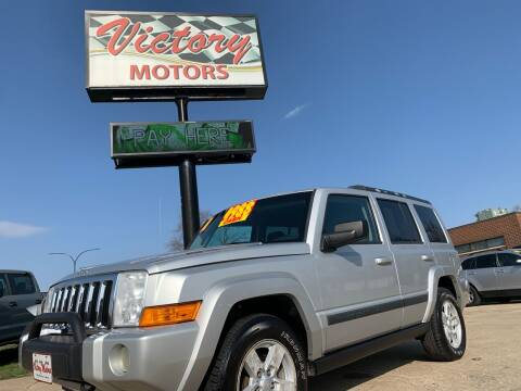 2008 Jeep Commander for sale at Victory Motors in Waterloo IA