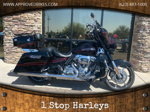 2011 Harley-Davidson Street Glide CVO for sale at 1 Stop Harleys in Peoria AZ