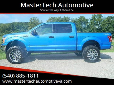 2020 Ford F-150 for sale at MasterTech Automotive in Staunton VA