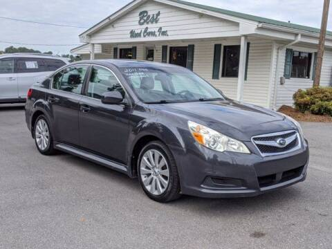 2011 Subaru Legacy for sale at Best Used Cars Inc in Mount Olive NC