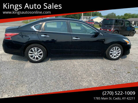 2015 Nissan Altima for sale at Kings Auto Sales in Cadiz KY