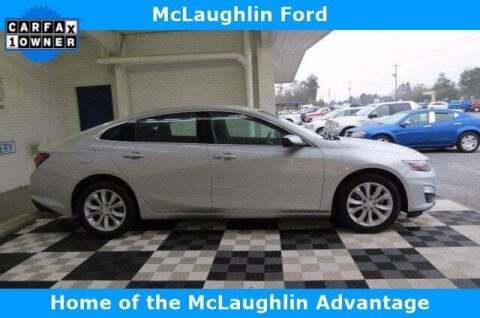 2020 Chevrolet Malibu for sale at McLaughlin Ford in Sumter SC