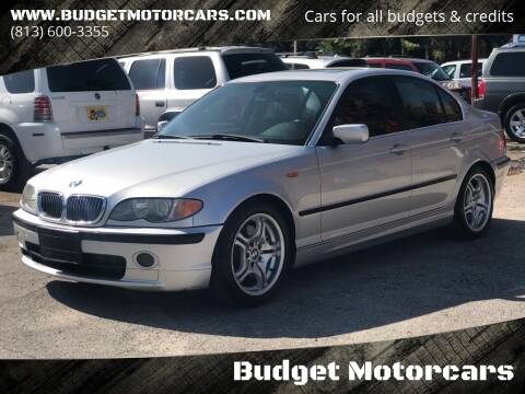 2003 BMW 3 Series for sale at Budget Motorcars in Tampa FL