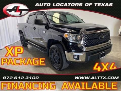 2018 Toyota Tundra for sale at AUTO LOCATORS OF TEXAS in Plano TX
