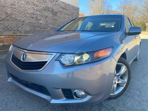 2011 Acura TSX for sale at Gwinnett Luxury Motors in Buford GA
