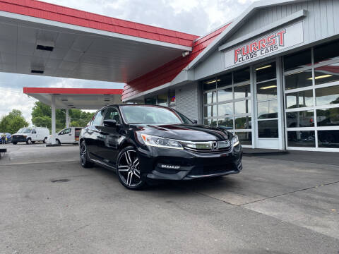 2017 Honda Accord for sale at Furrst Class Cars LLC  - Independence Blvd. in Charlotte NC