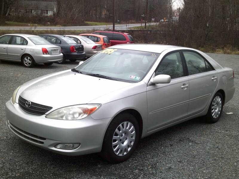 2003 Toyota Camry for sale at On The Road Again Auto Sales in Lake Ariel PA