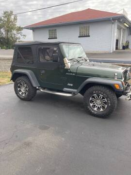 1997 Jeep Wrangler for sale at Ace Motors in Saint Charles MO