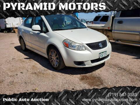 2009 Suzuki SX4 for sale at PYRAMID MOTORS - Pueblo Lot in Pueblo CO
