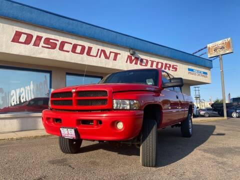 1999 Dodge Ram Pickup 2500 for sale at Discount Motors in Pueblo CO