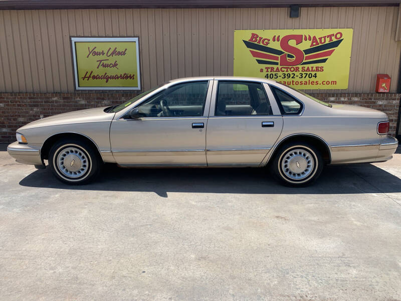 1996 Chevrolet Caprice for sale at BIG 'S' AUTO & TRACTOR SALES in Blanchard OK