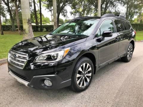 2017 Subaru Outback for sale at DENMARK AUTO BROKERS in Riviera Beach FL