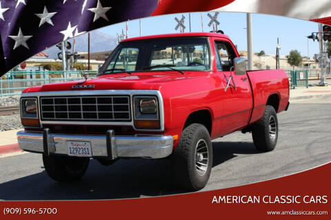 1984 Dodge RAM 150 for sale at American Classic Cars in La Verne CA