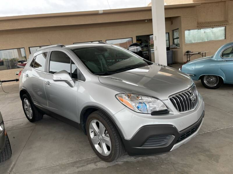 2016 Buick Encore for sale at Carzz Motor Sports in Fountain Hills AZ