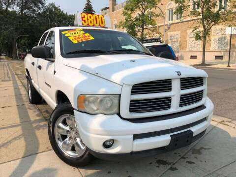2002 Dodge Ram Pickup 1500 for sale at Jeff Auto Sales INC in Chicago IL