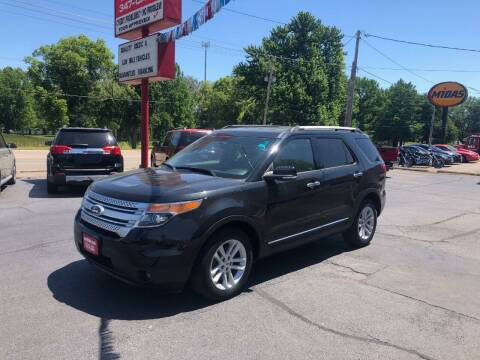 2013 Ford Explorer for sale at Parkside Auto Sales & Service in Pekin IL