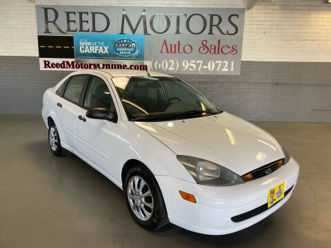 2004 Ford Focus for sale at REED MOTORS LLC in Phoenix AZ