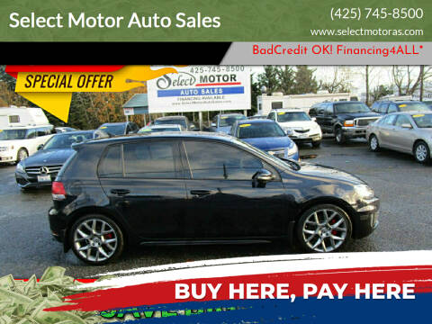 2013 Volkswagen GTI for sale at Select Motor Auto Sales in Lynnwood WA