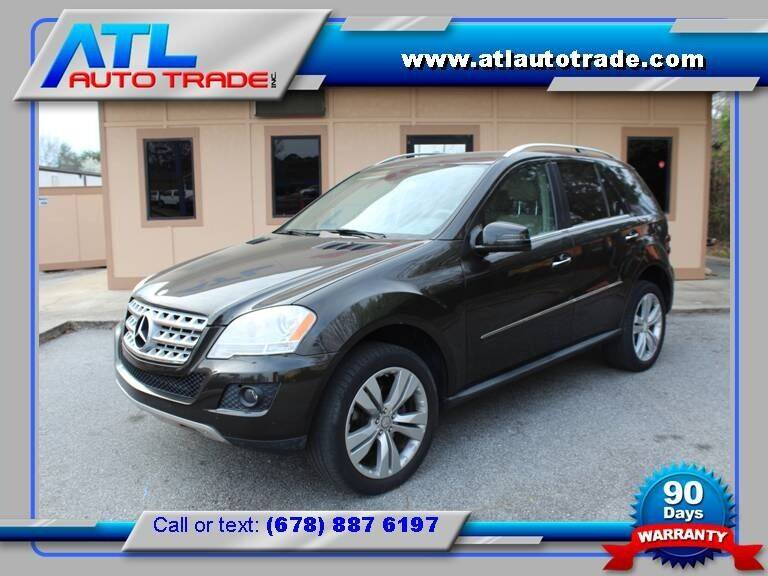 2011 Mercedes-Benz M-Class for sale at ATL Auto Trade, Inc. in Stone Mountain GA