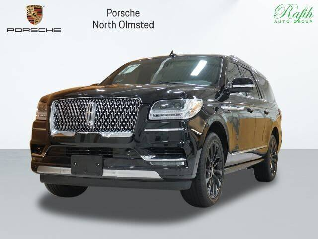 2020 Lincoln Navigator L for sale at Porsche North Olmsted in North Olmsted OH