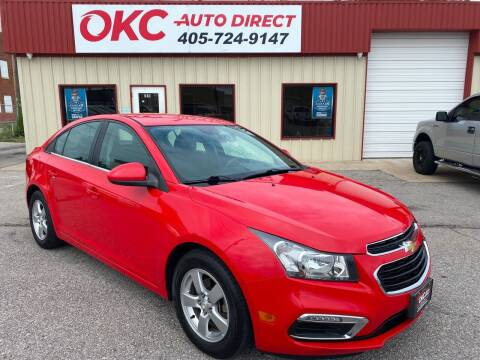 2015 Chevrolet Cruze for sale at OKC Auto Direct in Oklahoma City OK